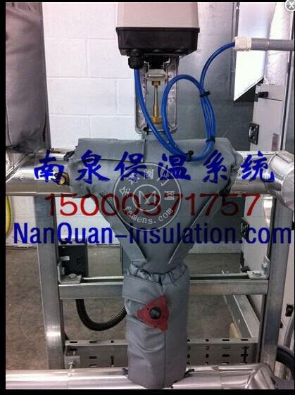 上海南泉量身定制各种球阀防烫保温盒