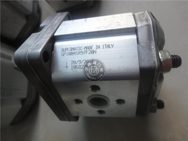 迪普馬DUPLOMATIC齒輪泵GP2-0095R00F/20N