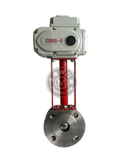 Q971F-16P电动超薄型球阀-电动对夹球阀-电动V型球阀-电动中、高温球阀