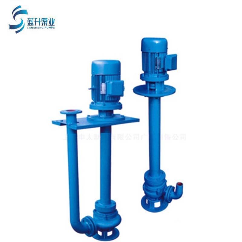供应山东济南立式双管 无堵塞液下潜水排污泵