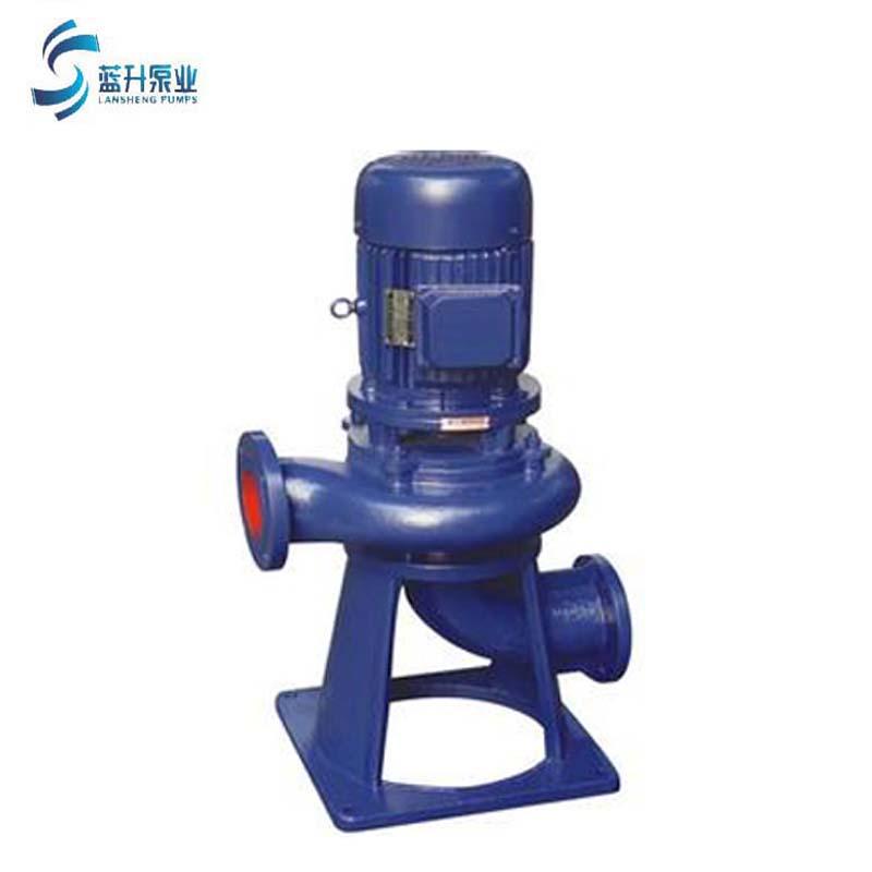 供应山东聊城立式LW 可移动农田灌溉无堵塞排污泵