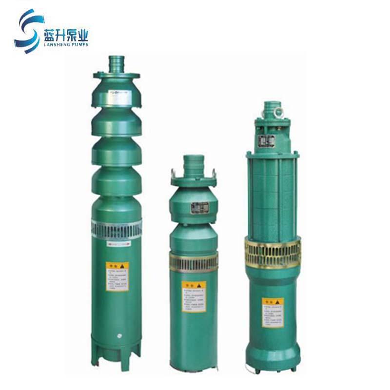 厂家直销山东QS电动喷泉泵 铸铁喷泉泵充水式潜水泵