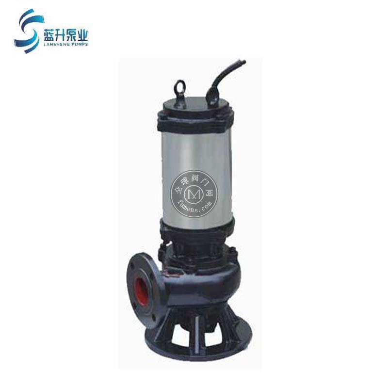 供应山东济南WQK带切割式潜污泵立式高温排污泵 380V