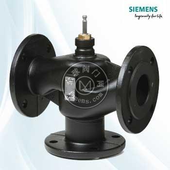 西门子电动水阀VVF47.100-160电控调节阀