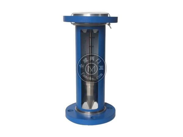 F10-50不锈钢法兰玻璃转子流量计