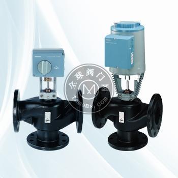 西门子电动温控阀DN50+SKD62铸钢阀