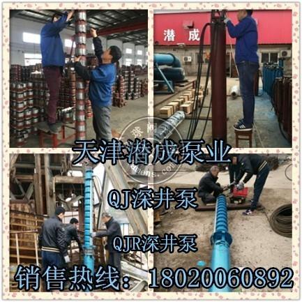 天津250QJ50-510-125KW深井泵厂家直销