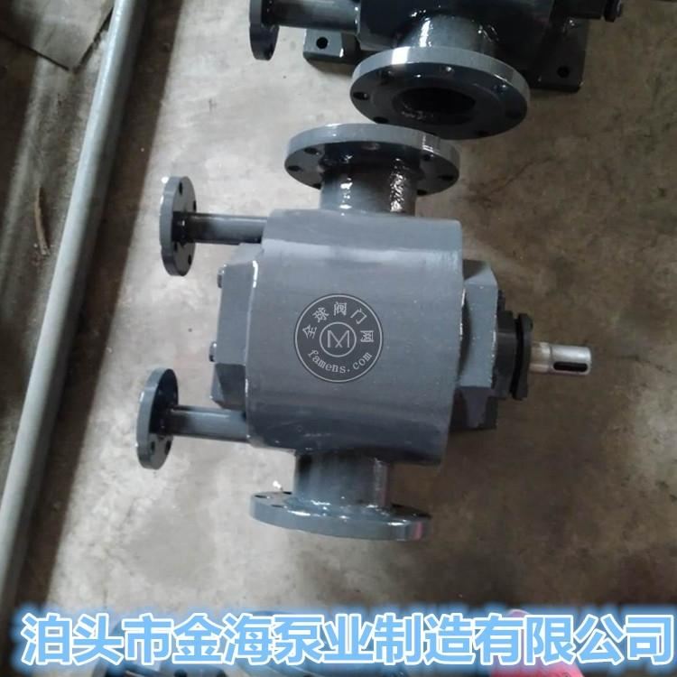 WQCB沥青保温泵沥青泵人字齿轮铸钢材质泊头金海泵业直销
