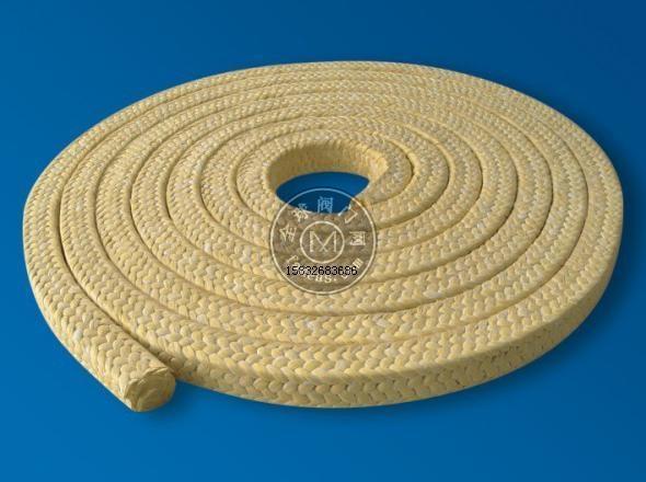 芳纶盘根产品特点: ●芳纶盘根技术参数