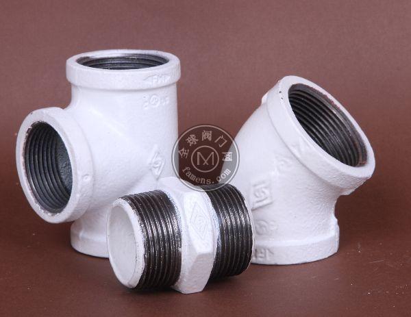 迈克玛钢沟槽管件  涂塑 衬塑管件