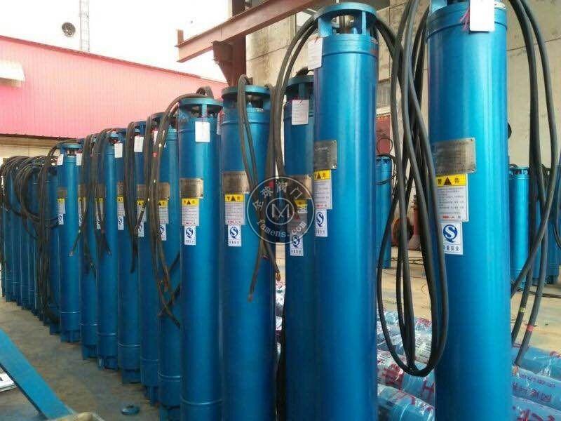 宁≡夏热水潜水泵效益-潜成泵业125KW热水潜水泵直销