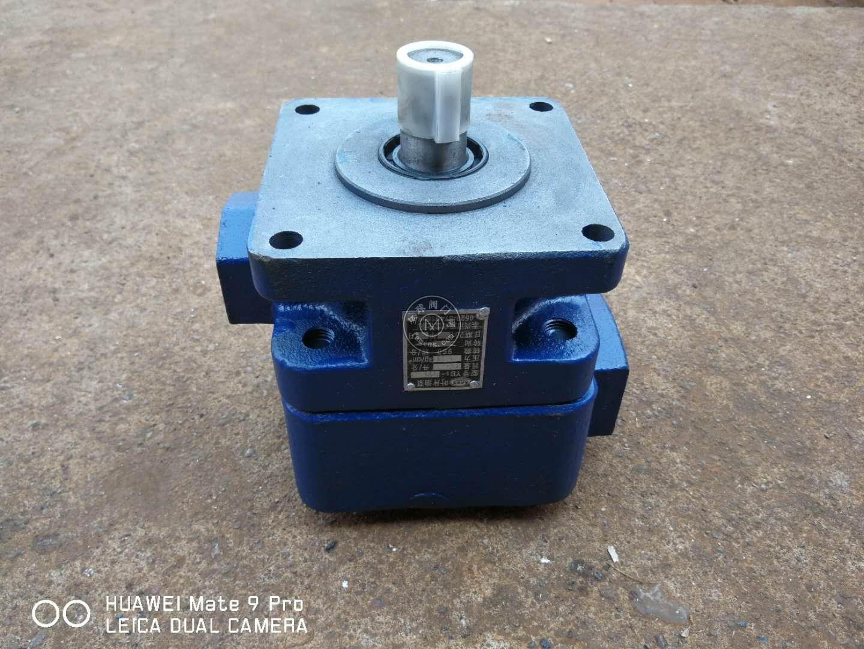 江苏双向牌叶片泵YB1-4/YB1-6/YB1-10压力6.3mpa