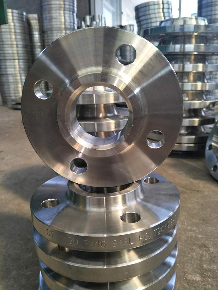 316L帶頸平焊法蘭坤航不銹鋼專業生產廠家