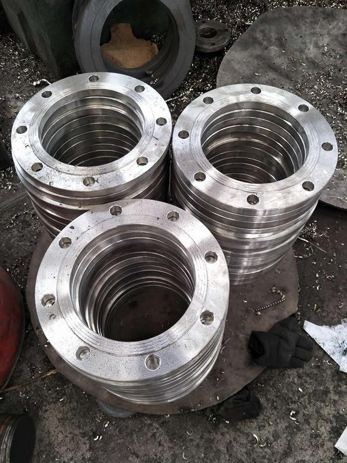 0Cr19Ni10不锈钢板式平焊法兰大型厂家供货迅速