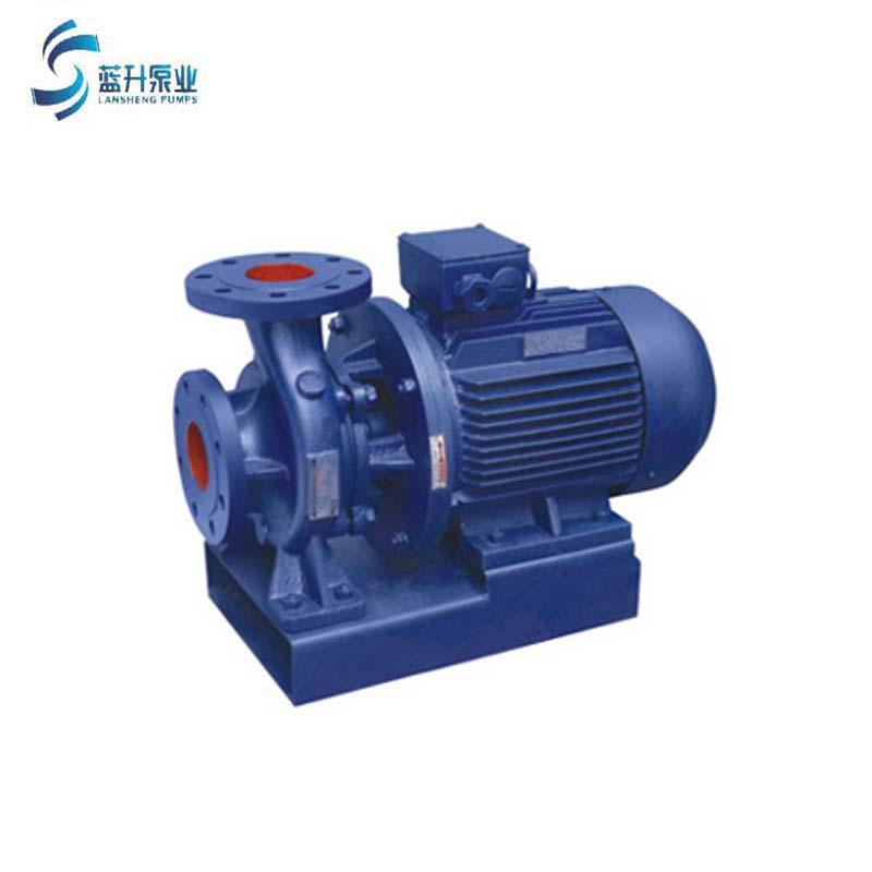 厂家直销 山东ISW卧式离心泵冷热水循环增压泵
