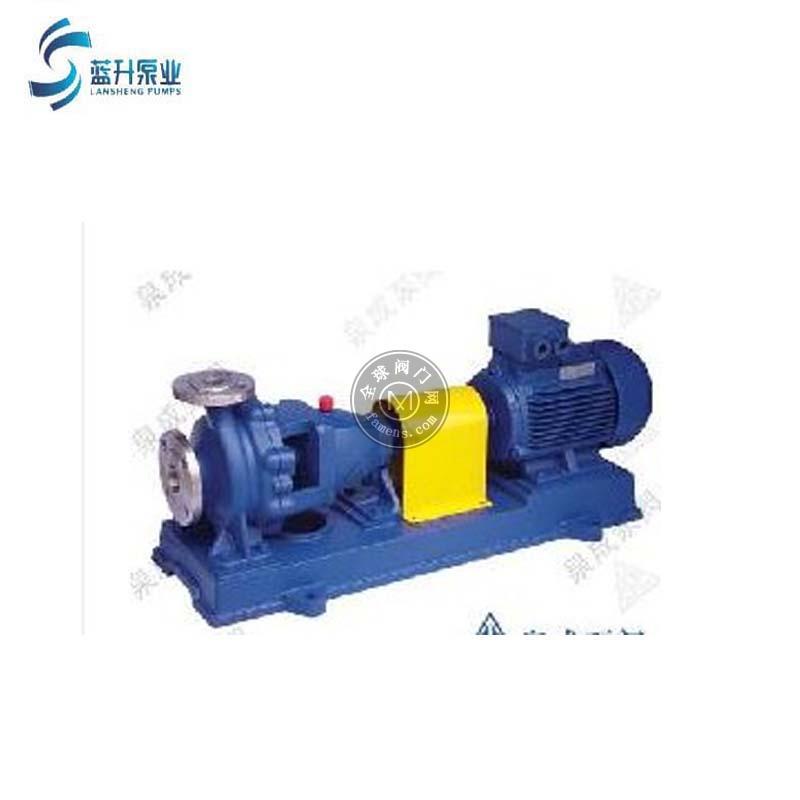 廠家供應IS單級單吸臥式熱水泵鍋爐泵