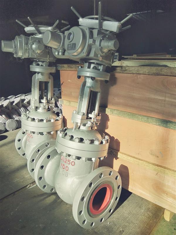 电动铸石耐磨闸阀