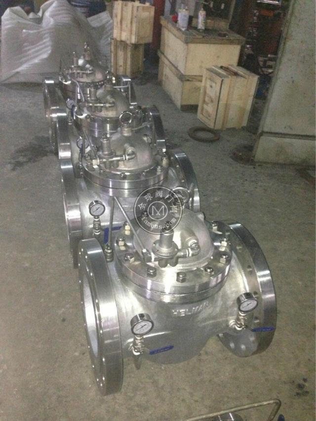 400X流量控制阀 水力控制阀 流量水利控制阀 流量控制阀