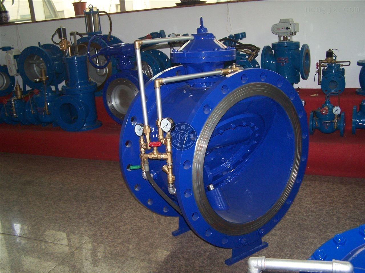 管力閥 水力控制閥 BFDG7M4管力閥 碳鋼管力閥