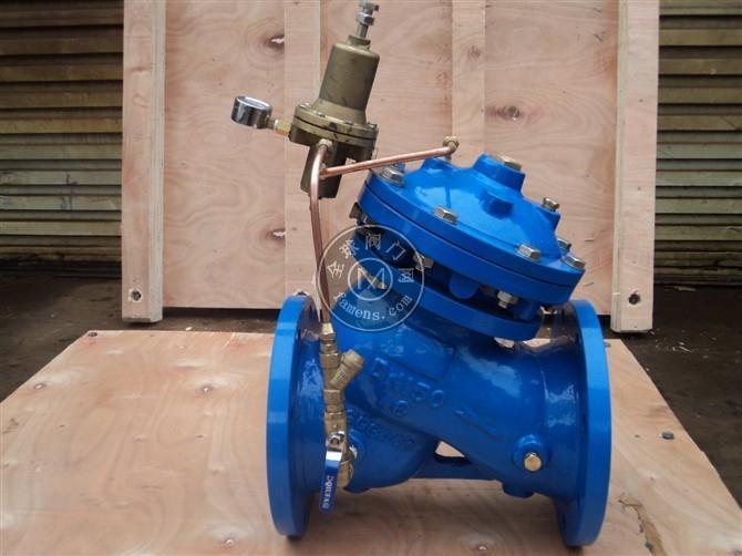 YX741X可调式减压稳压阀 水利控制阀 流量控制阀 减压阀