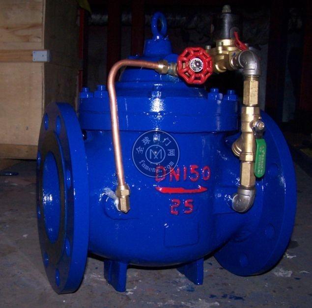 600X电动控制阀 水力控制阀 流量水利控制阀 电动电磁控制阀