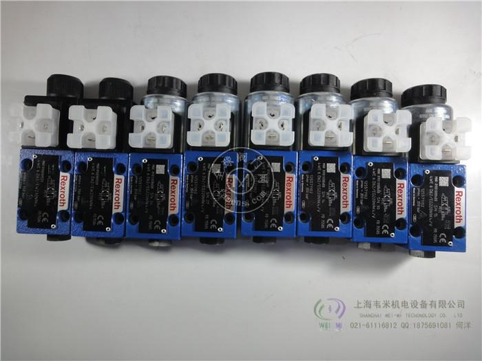 力士乐电磁换向阀4WE6C62/EG24N9K4