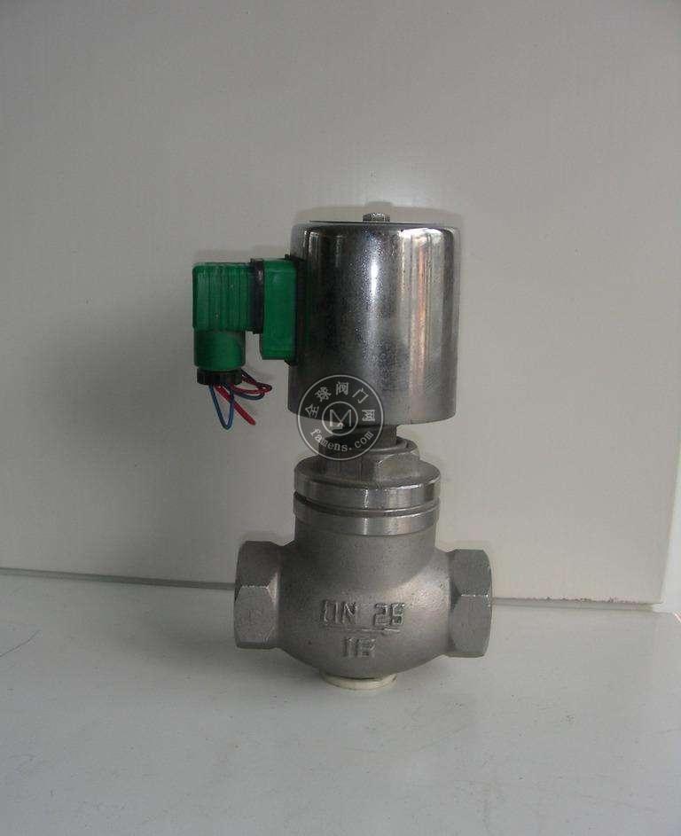 聚通阀门 高温蒸汽电磁阀 导热油电磁阀 ZQDF 厂家直销