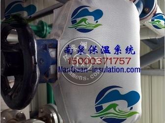 上海南泉截止阀柔性保温套