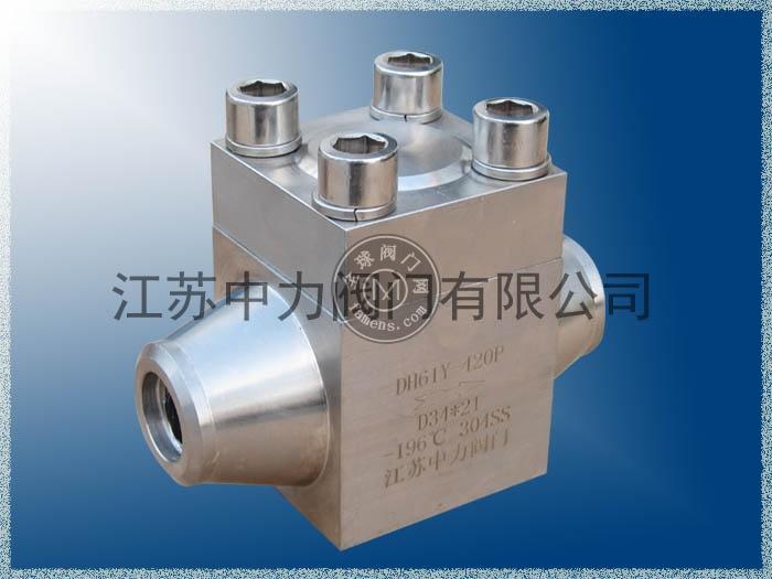 DH61Y-420P低温高压止回阀_旋启式低温高压止回阀