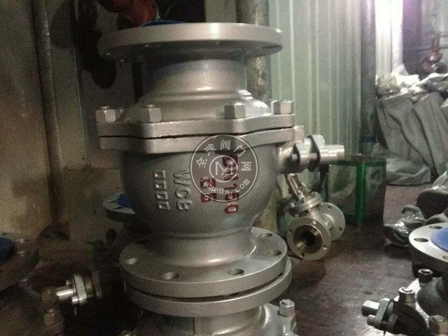 Q641F-16P不銹鋼氣動球閥廠家