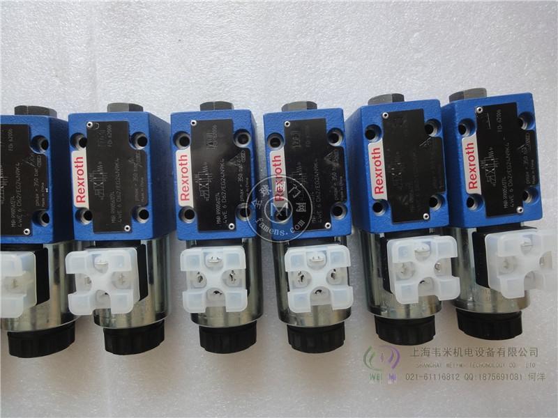 REXROTH電磁閥4WE6E50/AG24NZ5L