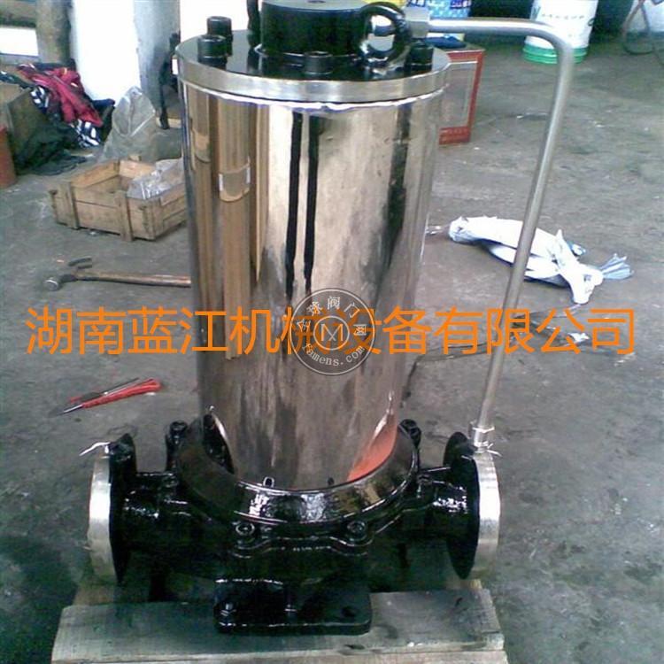PBG立式無噪音空調循環水屏蔽泵