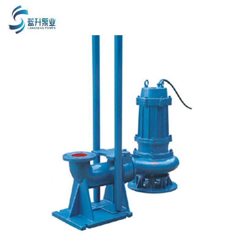 山東WQ潛污泵可移動配耦合軌道排污泵