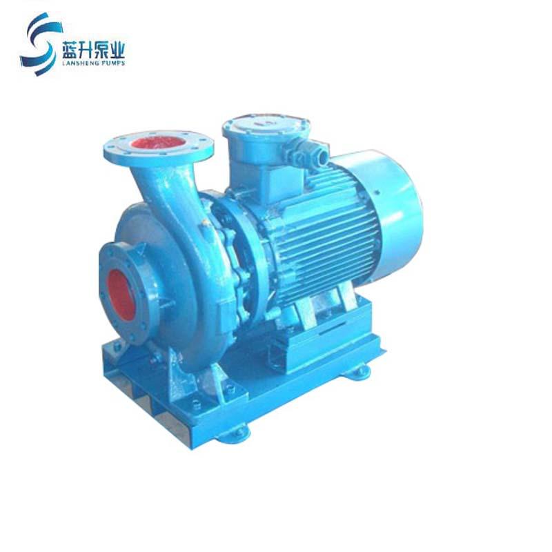 供应济南ISW卧式管道离心泵冷热水循环地暖增压泵