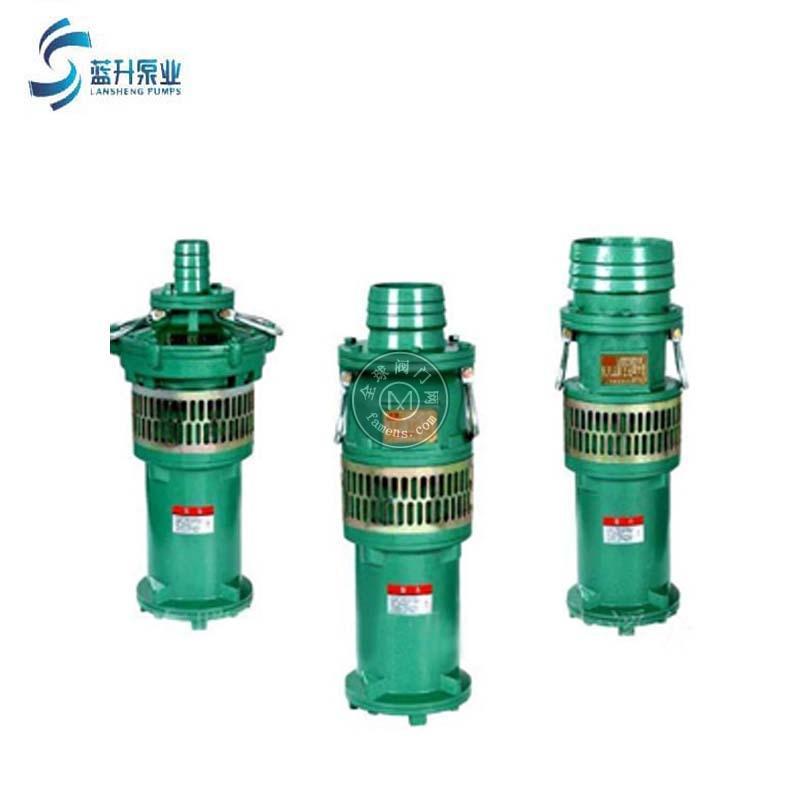 老虎机济南QS充水式潜水电泵喷泉泵