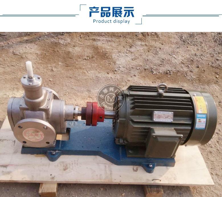沙龙网址泊头YCB圆弧齿轮泵-圆弧泵