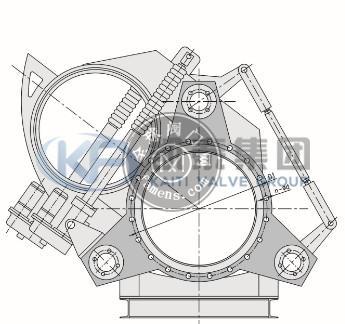KF9/743X眼镜阀(盲板阀)