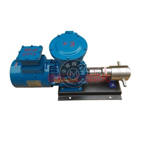 GB系列耐腐蚀齿轮计量泵