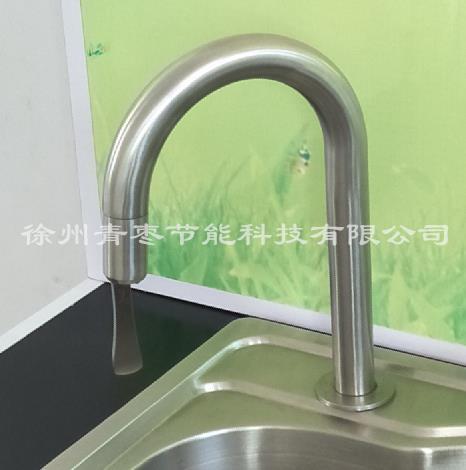 节水龙头厨房水龙头面盆水龙头自动关闭水龙头304不锈钢水龙头