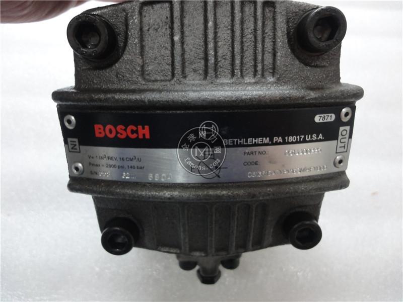 REXROTH齿轮泵0513870254