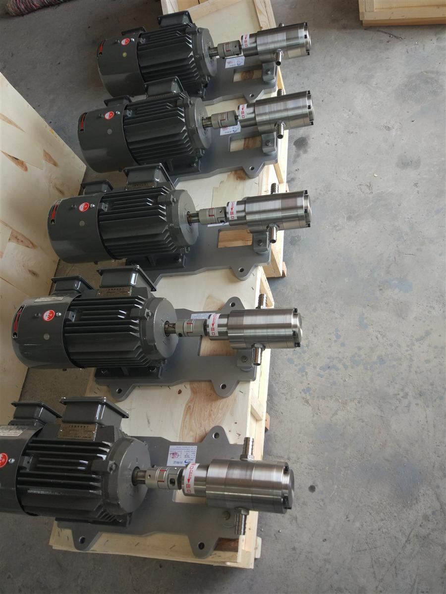 厂家直销德新牌AT08不锈钢耐腐蚀小流量齿轮计量泵