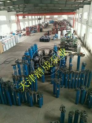 大流量耐热深井①泵-天津潜成泵业质�I量够硬的热水深井泵厂家