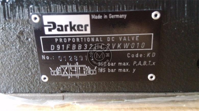 D91FWB32HC4NLW0升級D91FBB32HC4NKW0派克比例閥