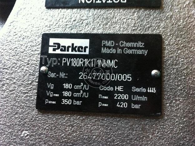 PV180R1K1T1NMMC派克高压柱塞泵
