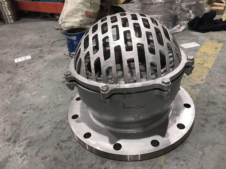 供應H42H、H42X鑄鋼法蘭底閥、罐底閥