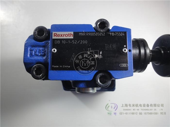 力士乐溢流阀DBW10A2-5X/200-6EG24N9K4