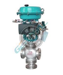 503S三通分流合流电动气动调节阀中英合资上海精欧阀门