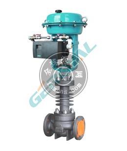 515G高溫注脂型電動氣動調節閥中英合資上海精歐閥門