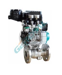 30T10 高性能电动调节球阀气动调节球阀中英合资上海精欧阀门