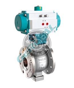 30V10 专用耐磨V型电动球阀气动球阀中英合资上海精欧阀门